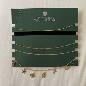 NWT Wild Fable Choker Necklaces